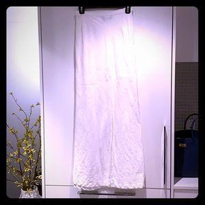 Dresses & Skirts - Long white Linen skirt